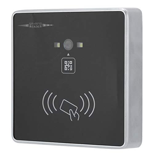 Lector de Tarjetas Código de Barras RFID 2D QR Lector de código de Barras RFID Inducción automática y Aviso de Timbre para Wiegand TTL RS232 RS485(ID Card)