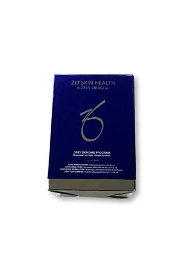 ZO Skin Health Daily Skincare Program, Exfoliating Cleanser - 60 mL / 2.0Fl. Oz. Exfoliating Polish - 16.2 g / 0.57 Oz. Complexion Renewal Pads - 30 Pads Daily Power Defense - 30 mL / 1 Fl. Oz.