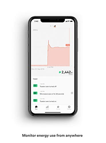 Sense Energy Monitor – Track Electricity Usage in Real Time and Save Money – Meets Rigorous ETL/Intertek Safety Standards