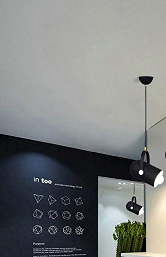 Kroonluchter bar creatieve kroonluchter kast tent kleding hal werkkamer restaurant kroonluchter kleur zwart