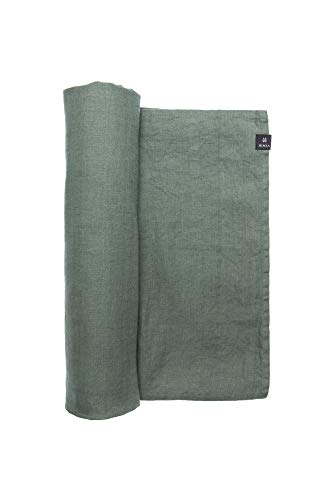Himla tafelkleed Sunshine - 100% gewassen linnen - onderhoudsvriendelijk - strijkvrij - diverse Kleuren en maten