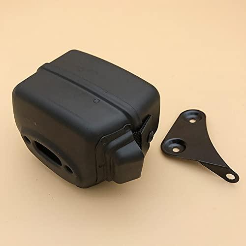 Kit de juntas de soporte de soporte de silenciador de alta calidad apto para HUSQVARNA 55 50 51 55 Rancher 55 EU1 Piezas de motosierra de gasolina OEM 501 76 88 01