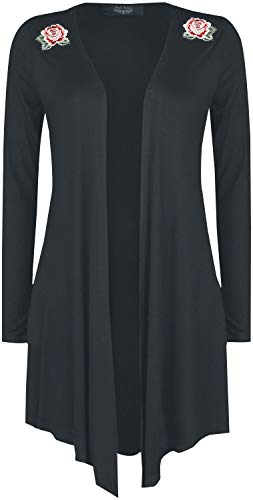 Rock Rebel by EMP Frauen Cardigan schwarz S 95% Viskose, 5% Elasthan Basics, Rockwear