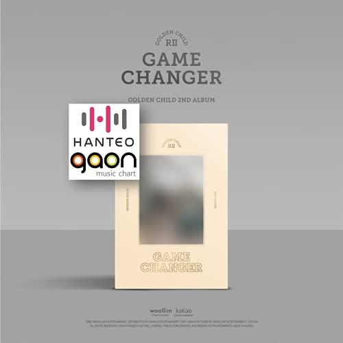 Golden Child - Game Changer (A ver.) (2nd Album) Album+BolsVos K-POP Webzine (9p), Decorative Stickers, Photocards