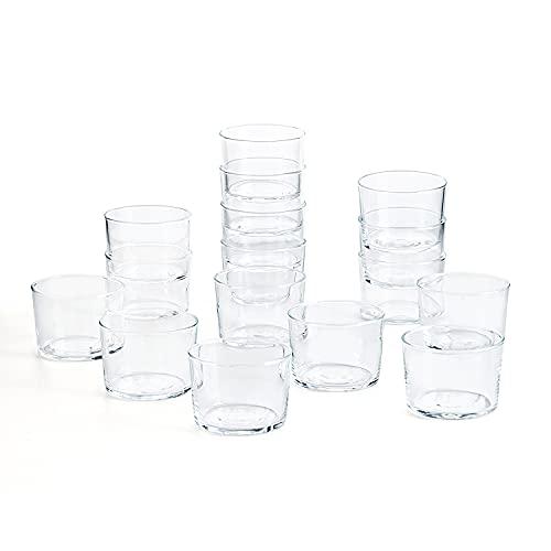 Luminarc chiquito, Set 16 vasos cristal chiquito 23 cl