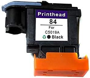zzsbybgxfc Accessories for Printer PRTA10763 84 85 Printhead for HP 84 85 C5019A C9420A C9421A C9422A C9423A C9424A Print Head for 30 90R 130 Printer - (Type: BK) (Color : BK)