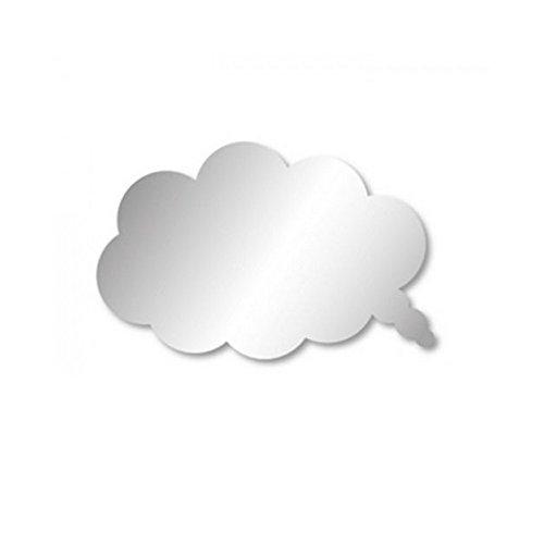 Stickers miroir bulle de BD nuage autocollant