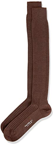 FALKE Herren No. 2 Finest Cashmere Socken, Teak Melange, 43-44