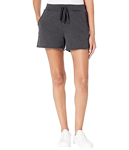 Michael Stars Otto Cut-Off Sweat Shorts in Hermosa French Terry Black XS (US 0-2) 2.5