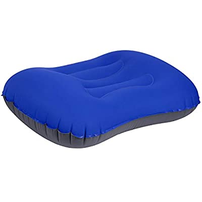 Ameauty Inflatable Camping Pillow, Compressible and Compact Travel Pillow for Outdoor Camping