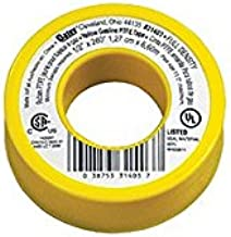 Oatey 31403 Gas Line Thread Seal Tape Pack of 10
