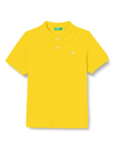 United Colors of Benetton 3F31C3139 Polo, Lemon Chrome 0t5