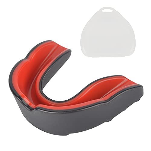 AIBAOBAO Protector Dental, Retenedor de Ortodoncia Contenedor Caja Protector Dental Para Dientes, para Todos los Deportes de Contacto, Boxeo, Protección Dental Bucal, Para Sanda, Entrenamiento, etc.