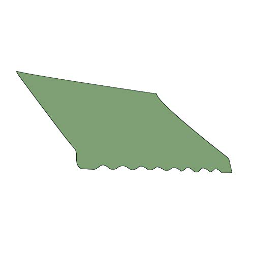 Zoeay Retractable Sunshade Canopy,Sun Shade Sail,210D Sunshade Replacement Fabric (Not Including Rod),95% Uv Resistance,Waterproof And Durable,Suitable For Outdoor Courtyards-Armygreen_250*300Cm