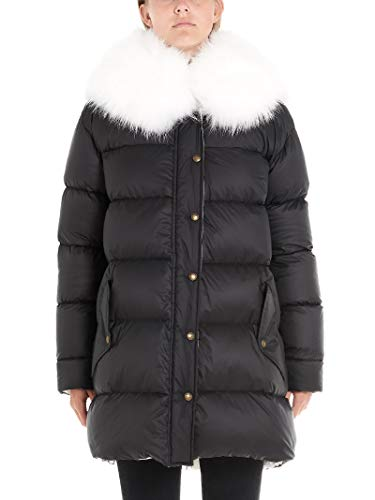 MR&MRS ITALY Luxury Fashion Womens Down Jacket Winter Black