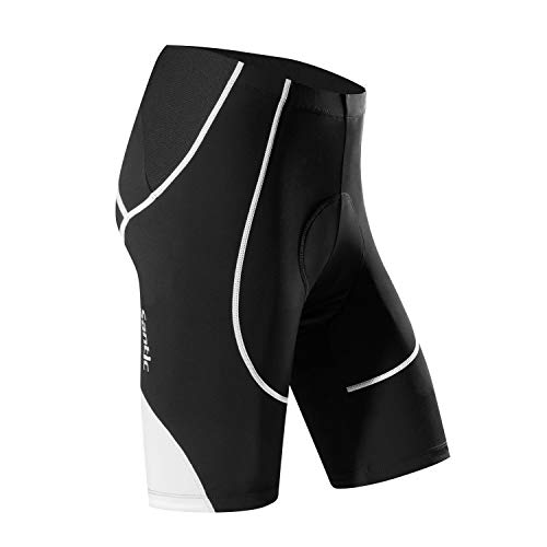 Santic Cycling Shorts Men's Bike Biking Bicycle Pants Tights 4D...