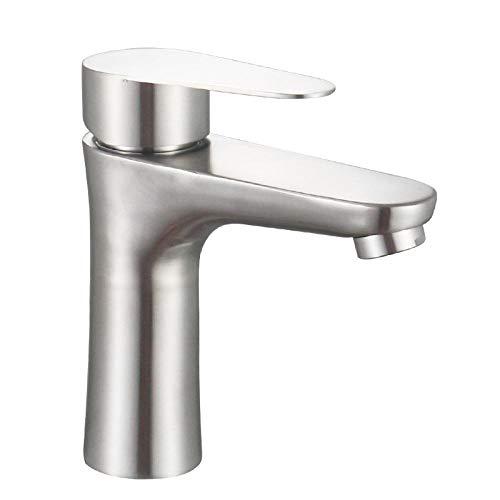Grifo de lavabo grifo de lavabo doble frío simple baño grifo de lavabo artesanal cepillado grifo de cocina