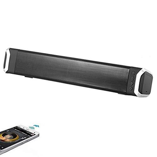3D Surround Soundbar, 4.2 Bluetooth thuisbioscoop met ingebouwde subwoofers, Wired en draadloze verbinding, Sound Bars voor TV/PC/telefoons/tabletten, Ondersteuning APP