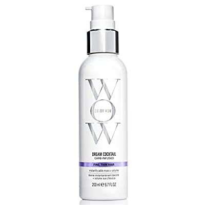 COLOR WOW Dream Cocktail, Carb Infused Leave-In Treatment For Fine, Thin Hair, 6.7 Fl Oz
