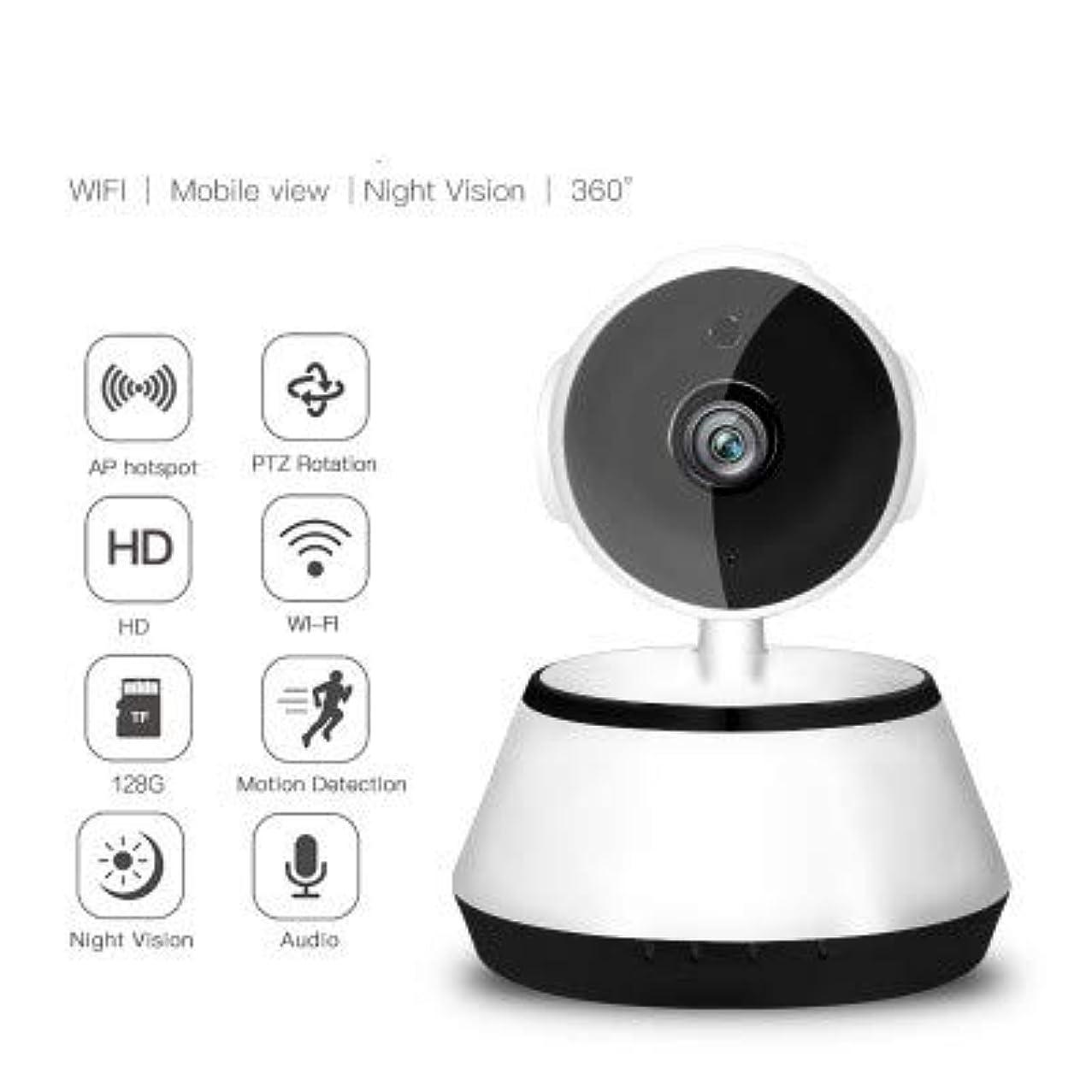 House Security Wireless HD 720p IP Camera Pan Tilt Network Security CCTV Night Vision WiFi Cam Black