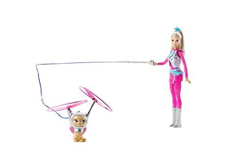 Barbie - Muñeca Fashion, Mascota voladora Aventura en el Espacio (Mattel DWD24)