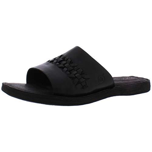 BORN St. Francis Black Full Grain Leather 6 M (B)
