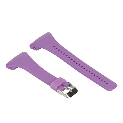 TeaBoy Compatible with Polar FT4 FT7 Watch Bands, Soft Swearproof Sport Watchabnd Bands Strap Compatible with Polar FT4 FT7 Silicone Replacement Wristbands Women Men