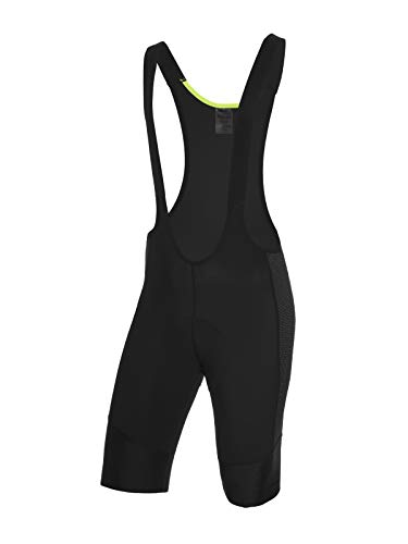 Spiuk Helios Antiabrasion Culote Corto C T, Hombres, Negro, T. XL