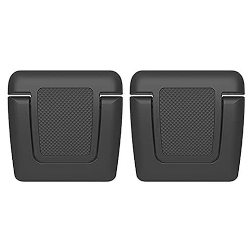 Joliy 2 Pezzi di Supporto per Laptop Set Mini Supporto Pieghevole Antiscivolo Nero per Notebook Supporto Impermeabile Staffa Regolabile per dissipazione del Calore