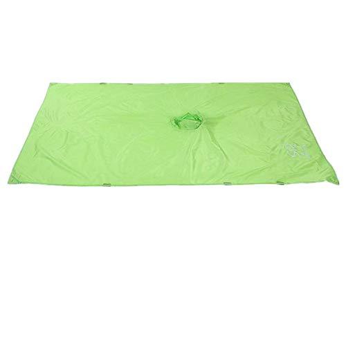 XGTsg Bouclier Imperméable Extérieur Pluie Camping Mat Beach Mat Peut Être Utilisé comme Un Mat/Store L'Alpinisme Imperméable 150 * 220 Cm,Green