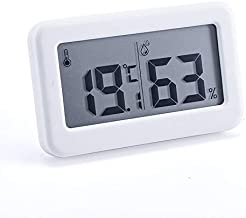 Xu Yuan Jia-Shop Termómetro Higrómetro Terminación Digital Humedad Termómetro Termómetro Hygrómetro para Uso en Interiores Temperatura electrónica multifunción Digital Termohigrómetro
