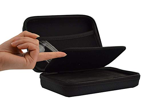 Funda 6 pulgadas Rheme para coche GPS navegación para Garmin y TomTom Garmin nüvi series Nuvi 65LM 65LMT 66LM 66LMT 67LM 68LM 2659LM 2699LMT-D 5 pulgadas y 6 pulgadas también dispositivos de 6,5, incluyendo TomTom, Garmin, Navman y Navigon marcas, incluida nuevo Nuvi 60 Serie Universal carcasa rígida para navegadores GPS - Apto para 5 pulgadas y 6 pulgadas también dispositivos de 6,5, incluyendo TomTom, Garmin, Navman y Navigon marcas, incluida nuevo Nuvi 60 Series.