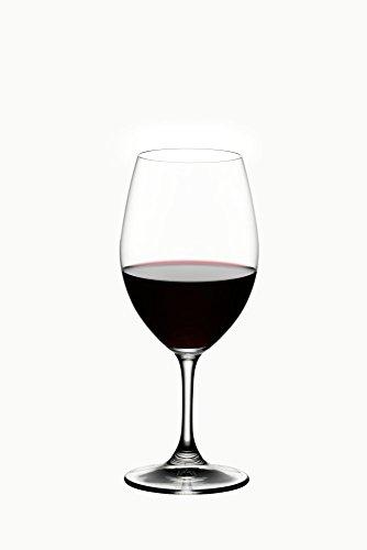 Riedel Ouverture Rotwein, Rotweinglas, Weinglas, hochwertiges Glas, 350 ml, 2er Set, 6408/00