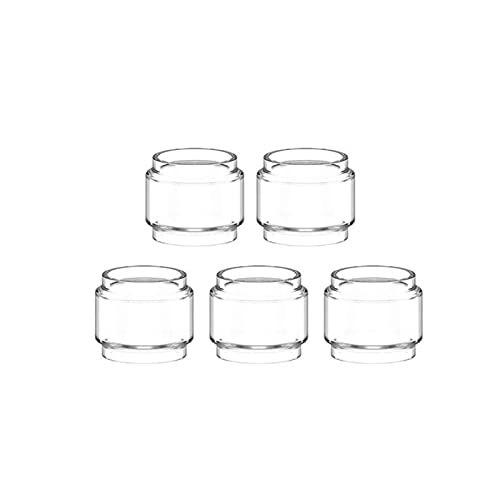 Pang-qingtian 5PCS Burbuja Tubo DE Vidrio Apto para vaporesso SKRR-S Mini Apto para SKRR Lujo Kit Nano S Apto para Sky Solo Plus Pyrex Fat Glass Tank (Color : Luxe Kit 8ml, tamaño : 5PCS)