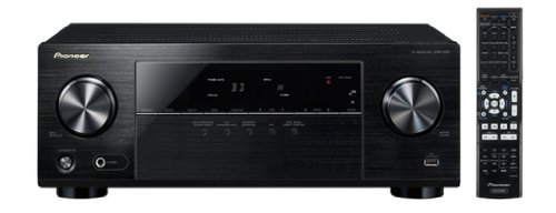 Pioneer VSX-323-K 5.1 AV-Receiver (4K Ultra HD Pass-Through, 3D, ARC, Front-USB, Dolby TrueHD, ECO Mode) schwarz
