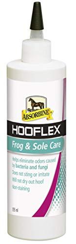 William Hunter Equestrian Absorbine Hooflex rana & Sole Care 355 ml, Elimantes odori causati dai batteri & funghi