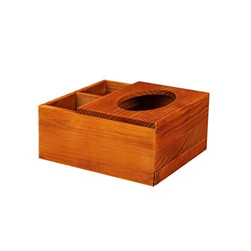 Cheaonglove Cajas para pañuelos de Papel Caja de pañuelos De Madera de la Caja del Tejido Tejido Caja Caja de pañuelos Cubre rectángulo Cajas de pañuelos b