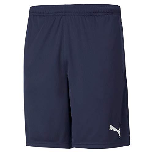 Puma Herren teamRISE Training Shorts, Peacoat White, L