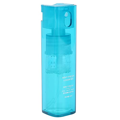 Ambientadores en aerosol bucal, aerosol para el mal aliento, menta fresca para el cuidado de la salud bucal, aerosol refrescante portátil para el aliento para el mal aliento, 10 ml