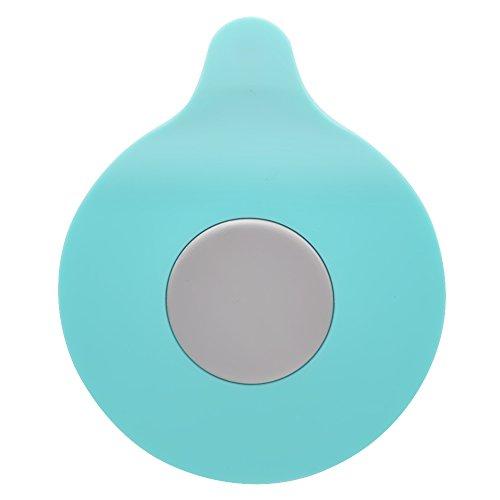 GreeSuit Stöpsel für Spülbecken Silikon Badewanne Becken Stopper Gummi Wasserablauf Waschbecken Saug Stecker für Küchen Badezimmer Wäschereien (grün)