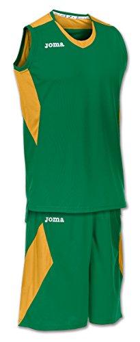 Joma Set Space Verde-Dorado S/M Basket, Hombres, Verde-Dorado-400