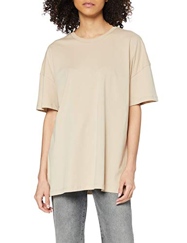 Only ONLAYA Life S/S Oversized Top Jrs Noos T-Shirt, Humus, XS Donna