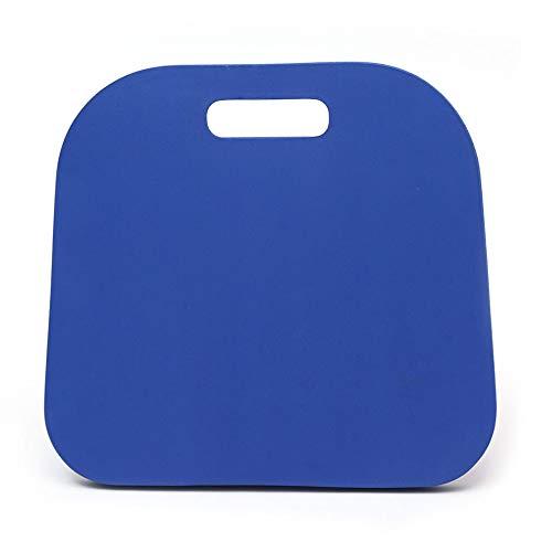 Blanketswarm Sitzkissen, Memory-Schaum, für Garten, Kniekissen, dick, mit Griff, für Reinigung, Bootsstadien, Bleicher, 2 Stück