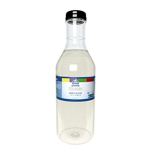 Ralph's Pina Colada Snow Cone Syrup   32oz (Quart)   Made With Pure Sugar   Easy Pour & Store Flip Cap Included (Pre-Attached)