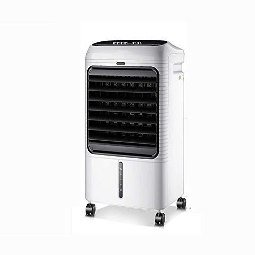 QIURUIXIANG Aire acondicionado móvil enfriador evaporativo purificador de aire humidificador 8L tanque grande (color: control remoto) QU529 (color: control remoto)