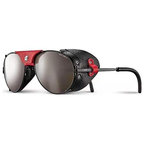 Julbo Cham Gafas, Negro/Rojo, L para Hombre