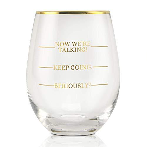 Divertida copa de vino I
