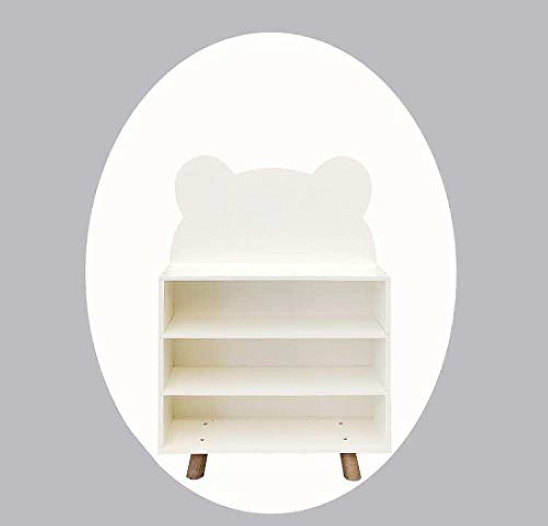 Nordische Kinder Kleiderschrank Holz Montage Baby Kinder Bücherregal Schuhschrank Baby Aufbewahrungsfach