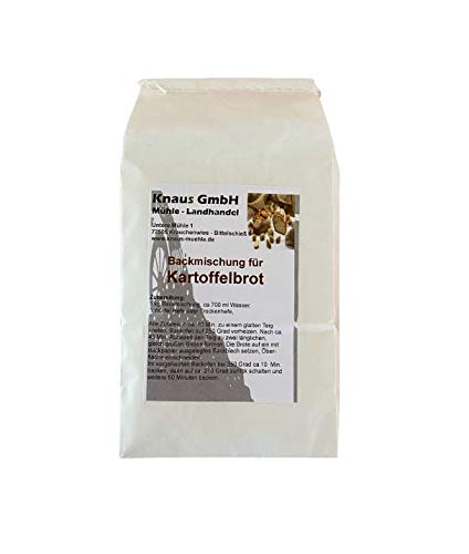 Backmischung Kartoffelbrot 1 kg / Brot Backen Mischung Mehl
