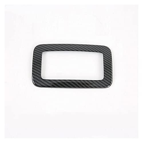 POLKMN Ajuste para Toyota Sienna 2015-2020 1 UNID FIBRA DE CARBONO ABS ABS Aire acondicionado Interruptor Interruptor del interruptor de la perilla Cubierta del panel de la perilla Accesorios de estil
